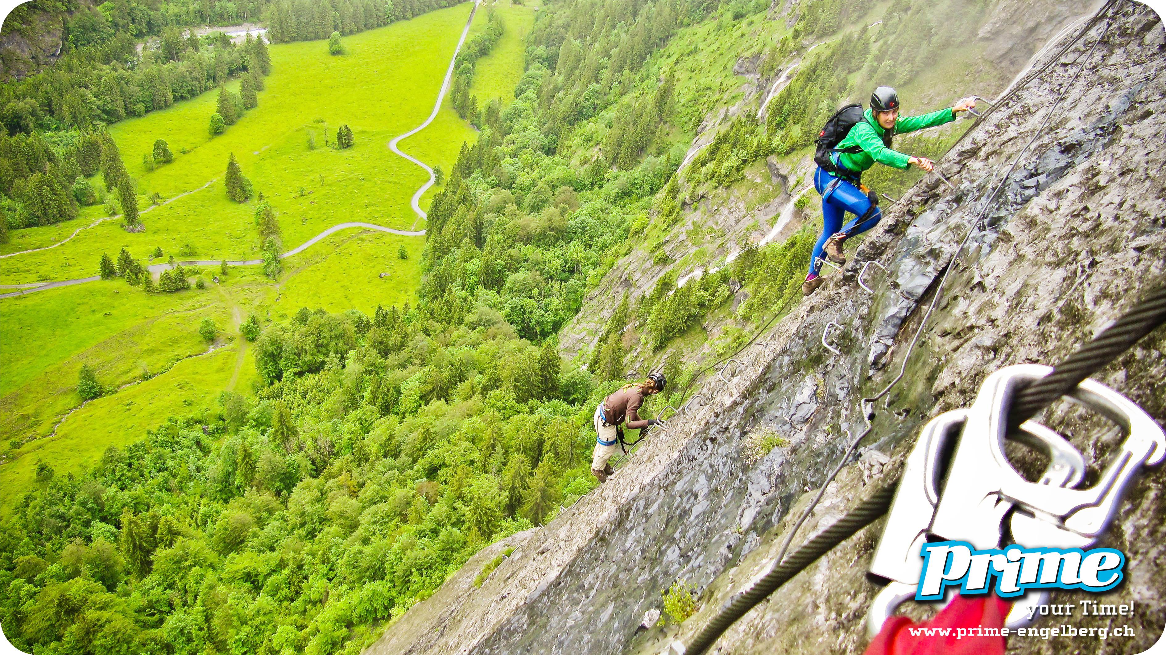 Klettersteigset Mieten Engelberg : Rock safety days u engelberg mountain guide