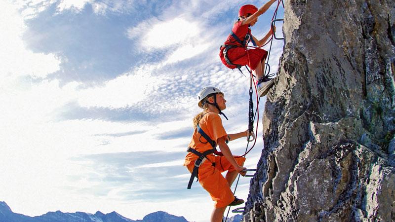Klettersteig Kinder : Klettersteige achensee klettern