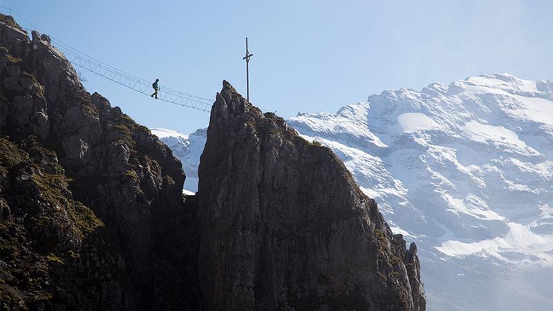Klettersteig Ostschweiz : Klettersteige schweiz