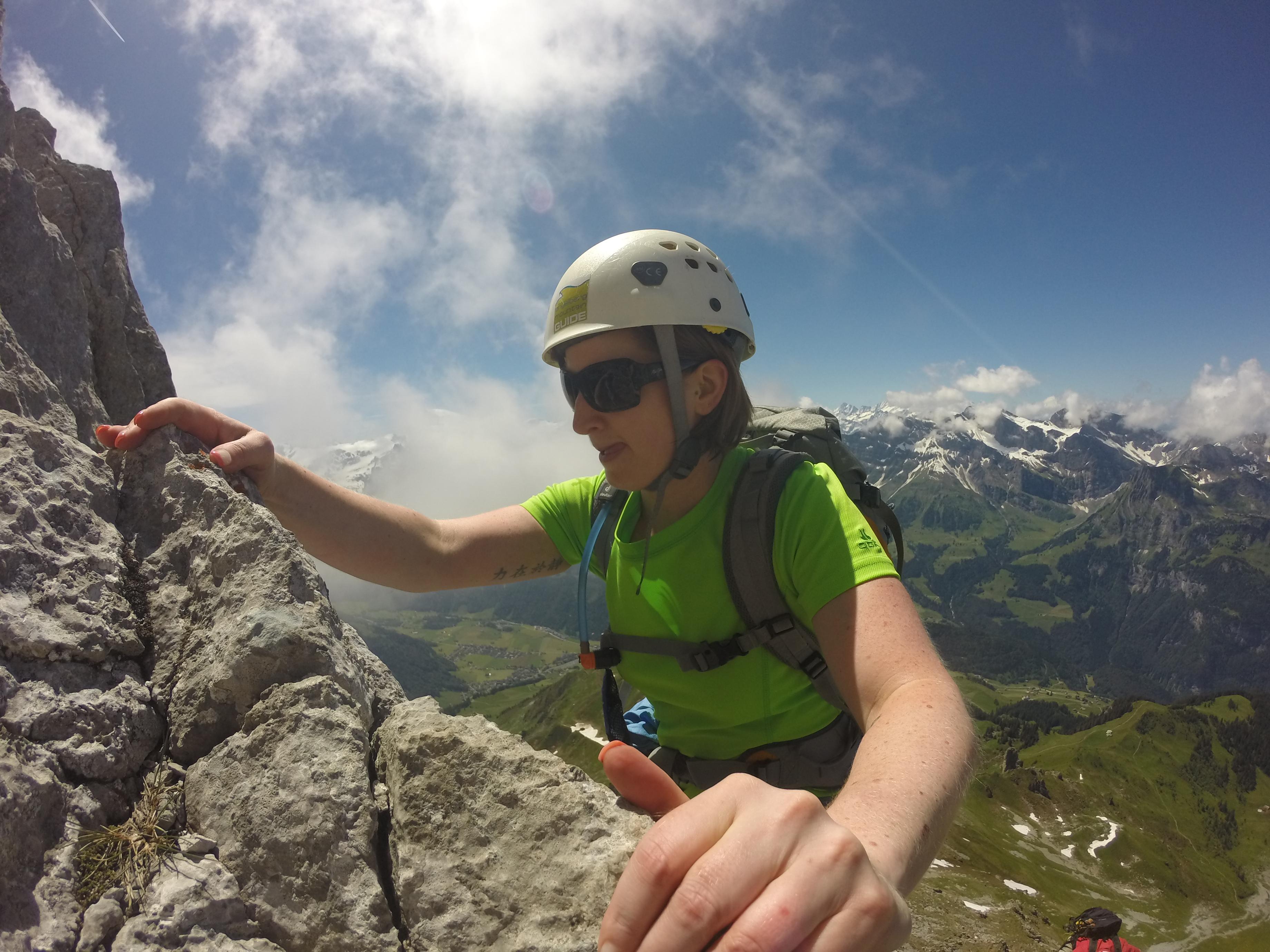 Klettersteig Rigidalstock : Rigidalstock u engelberg mountain guide
