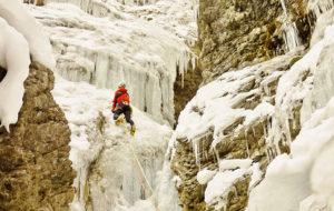 Eisklettern in Engelberg