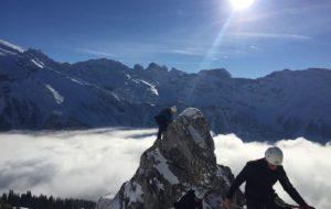 Klettersteige im Winterschlaf