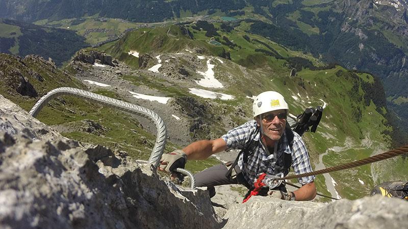 Fürenwand Klettersteig Unfall : Klettersteige u engelberg mountain guide