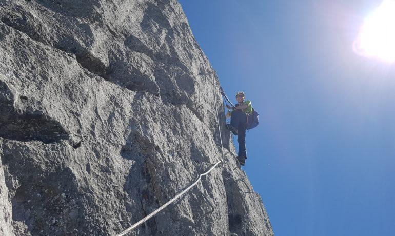 Klettersteig Rigidalstock : Klettersteigtour rigidalstock u engelberg mountain guide