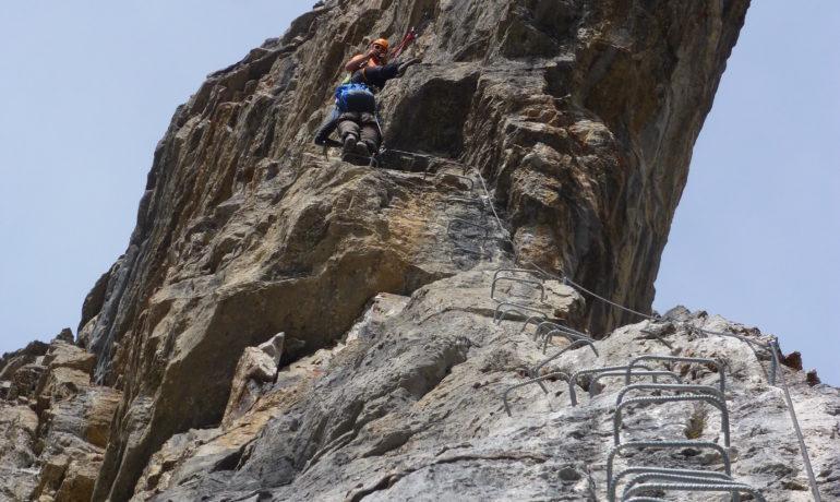 Klettersteig Graustock : Klettersteigtour graustock u engelberg mountain guide