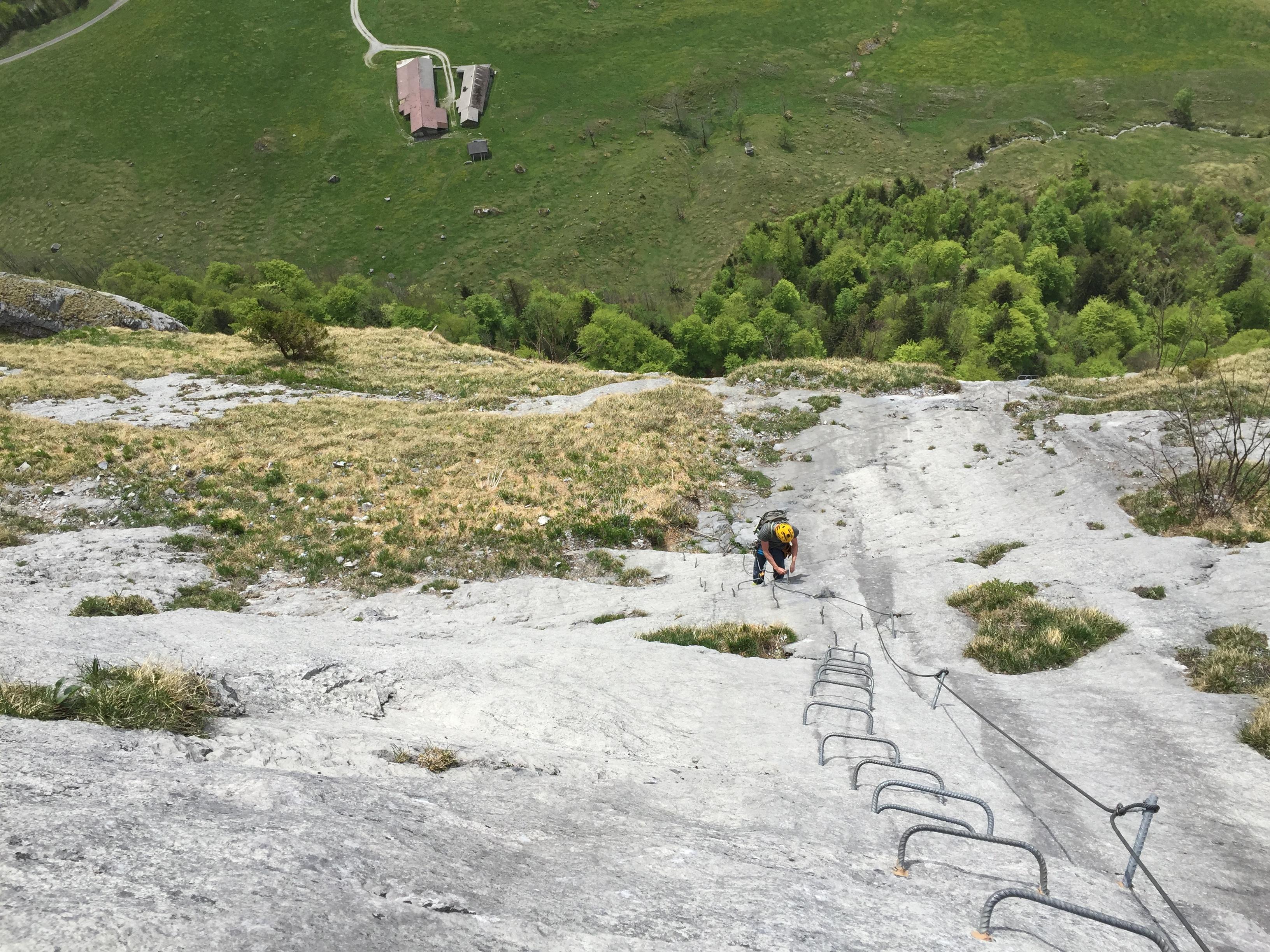 Klettersteig Wimmis : Klettersteige und klettern braunwald